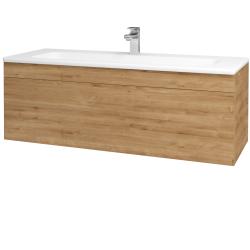 Dřevojas - Koupelnová skříň ASTON SZZ 120 - D09 Arlington / Úchytka T05 / D09 Arlington (109585F)