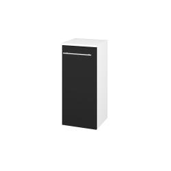 Dřevojas - Skříň spodní DOS SND 35 - N01 Bílá lesk / Úchytka T02 / N08 Cosmo / Levé (211813B)