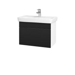Dřevojas - Koupelnová skříň SOLO SZZ 60 - N01 Bílá lesk / Úchytka T05 / N08 Cosmo (205799F)