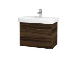 Dřevojas - Koupelnová skříň SOLO SZZ 60 - D06 Ořech / Úchytka T05 / D06 Ořech (22146F)