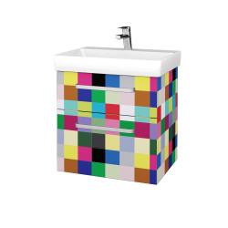 Dřevojas - Koupelnová skříň PROJECT SZZ2 60 - IND Individual / Úchytka T01 / IND Individual (322526A)