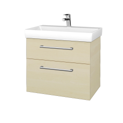 Dřevojas - Koupelnová skříň PROJECT SZZ2 70 - D02 Bříza / Úchytka T03 / D02 Bříza (322854C)