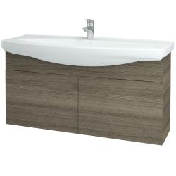 Dřevojas - Koupelnová skříň TAKE IT SZD2 120 - D03 Cafe / Úchytka T05 / D03 Cafe (133535F)