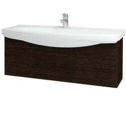 Dřevojas - Koupelnová skříň TAKE IT SZZ 120 - D08 Wenge / Úchytka T05 / D08 Wenge (134303F)