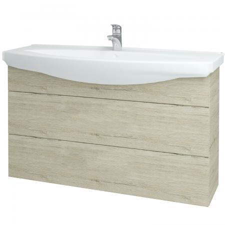 Dřevojas - Koupelnová skříň TAKE IT SZZ2 120 - D05 Oregon / Úchytka T05 / D05 Oregon (134358F)