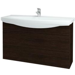 Dřevojas - Koupelnová skříň TAKE IT SZZ2 120 - D08 Wenge / Úchytka T05 / D08 Wenge (134372F)