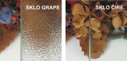 H K - Obdélníkový sprchový kout MELODY 110x90 cm se zalamovacími dveřmi , výplň sklo - grape (SE-MELODYB811090-19), fotografie 4/10