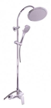 SLEZAK-RAV - Vodovodní baterie sprchová COLORADO s hlavovou a ruční sprchou, Barva: chrom, Rozměr: 100 mm (CO182.0/3)