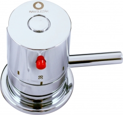 SLEZAK-RAV - Mixážní ručka termostatická, Barva: chrom, Rozměr: 1/2'' (DT268.5)