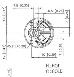 SLEZAK-RAV - Kartuš termostatická, Barva: ø 40 mm - termostat (KA4006), fotografie 4/2