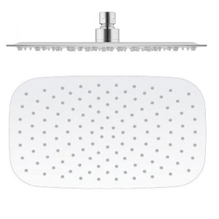 SLEZAK-RAV - Hlavová sprcha kovová 40x23,5 cm, Barva: nerez (KS0002)