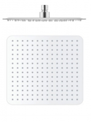 SLEZAK-RAV - Hlavová sprcha hranatá kovová 30x30 cm, Barva: nerez (KS0004)