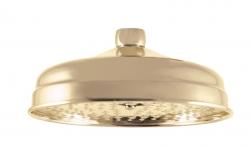 SLEZAK-RAV - Hlavová sprcha kulatá kovová ø 20 cm ZLATO, Barva: kov - zlato (KS0020Z)