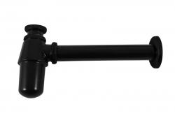 SLEZAK-RAV - Sifon umyvadlový ø 32 - černá matná, Barva: černá matná (MD0545CMAT)