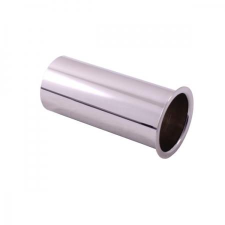 SLEZAK-RAV - Prodloužení k umyvadlovému sifonu - horní část - chrom, Barva: chrom, Rozměr: 15 cm (MD0690-15)