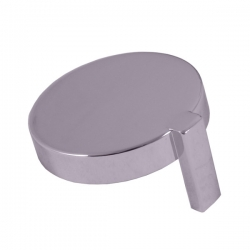 SLEZAK-RAV - Krytka k ručce termostatické baterie, Barva: plast/chrom, Rozměr: 1 ks (ND TRM8015-2)