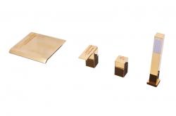 SLEZAK-RAV - Vodovodní baterie vanová , Barva: zlato, Rozměr: 3/8'' (ROYAL1374.0PZ)