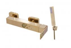SLEZAK-RAV - Vodovodní baterie sprchová, Barva: zlato, Rozměr: 150 mm (ROYAL1380.5Z)