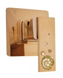 SLEZAK-RAV - Vodovodní baterie sprchová vestavěná , Barva: zlato (ROYAL1483Z)