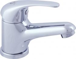 SLEZAK-RAV - Vodovodní baterie umyvadlová na jednu vodu, Barva: chrom, Rozměr: 3/8'' (SA091.0)