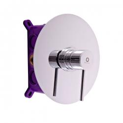 SLEZAK-RAV - Vodovodní baterie sprchová vestavěná SEINA, Barva: chrom (SE983BOX)