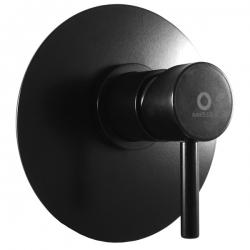 SLEZAK-RAV - Baterie sprchová vestavěná SEINA, Barva: černá matná (SE983LCMAT)