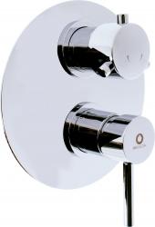 SLEZAK-RAV - Vodovodní baterie sprchová vestavěná s přepínačem SEINA, Barva: chrom (SE986K)