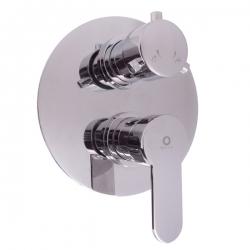 SLEZAK-RAV - Vodovodní baterie sprchová vestavěná s přepínačem ZAMBEZI, Barva: chrom (ZA086K)