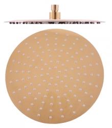 SLEZAK-RAV - Hlavová sprcha kulatá kovová ø 30 cm, Barva: nerez - zlatá (KS0001Z)