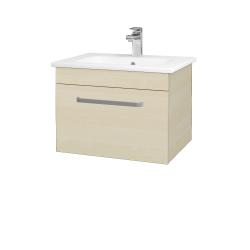 Dřevojas - Koupelnová skříň ASTON SZZ 60 - D02 Bříza / Úchytka T01 / D02 Bříza (131241A)