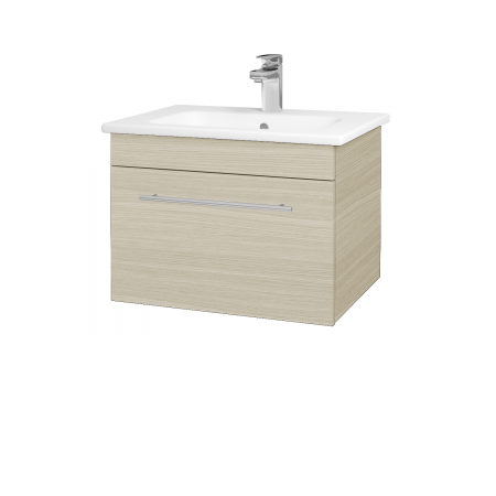Dřevojas - Koupelnová skříň ASTON SZZ 60 - D04 Dub / Úchytka T02 / D04 Dub (131265B)