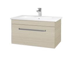 Dřevojas - Koupelnová skříň ASTON SZZ 80 - D04 Dub / Úchytka T01 / D04 Dub (131333A)