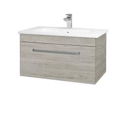 Dřevojas - Koupelnová skříň ASTON SZZ 80 - D05 Oregon / Úchytka T01 / D05 Oregon (131340A)