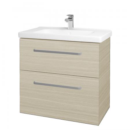 Dřevojas - Koupelnová skříň BIG INN SZZ2 80 - D04 Dub / Úchytka T01 / D04 Dub (133078A)