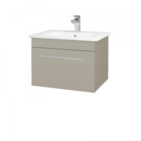 Dřevojas - Koupelnová skříň ASTON SZZ 60 - L04 Béžová vysoký lesk / Úchytka T02 / L04 Béžová vysoký lesk (108700B)