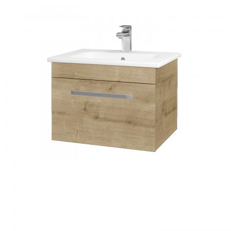 Dřevojas - Koupelnová skříň ASTON SZZ 60 - D09 Arlington / Úchytka T01 / D09 Arlington (108656A)
