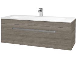 Dřevojas - Koupelnová skříň ASTON SZZ 120 - D03 Cafe / Úchytka T01 / D03 Cafe (131463A)