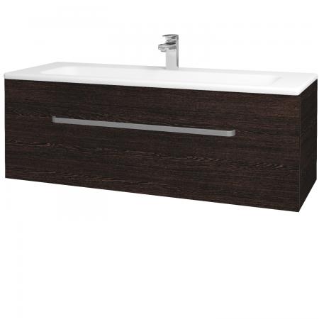 Dřevojas - Koupelnová skříň ASTON SZZ 120 - D08 Wenge / Úchytka T01 / D08 Wenge (131500A)
