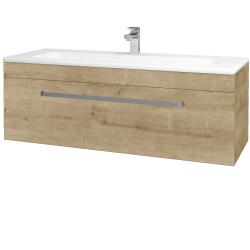 Dřevojas - Koupelnová skříň ASTON SZZ 120 - D09 Arlington / Úchytka T01 / D09 Arlington (109585A)