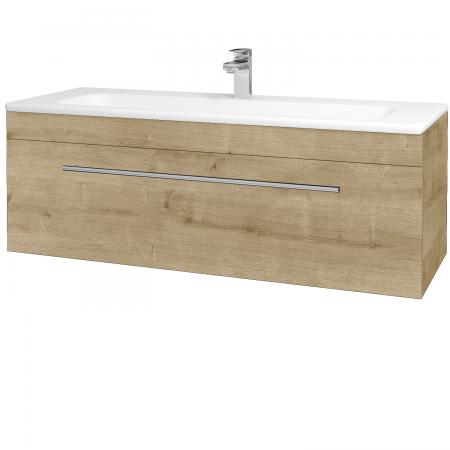Dřevojas - Koupelnová skříň ASTON SZZ 120 - D09 Arlington / Úchytka T02 / D09 Arlington (109585B)