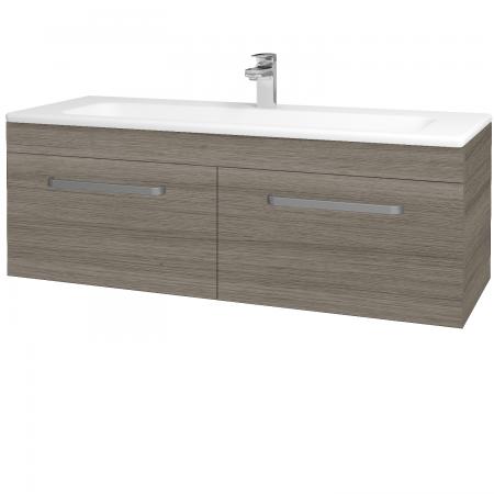 Dřevojas - Koupelnová skříň ASTON SZZ2 120 - D03 Cafe / Úchytka T01 / D03 Cafe (131531A)