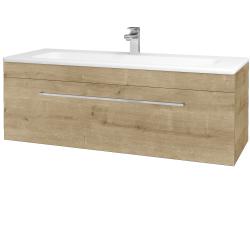 Dřevojas - Koupelnová skříň ASTON SZZ 120 - D09 Arlington / Úchytka T04 / D09 Arlington (109585E)