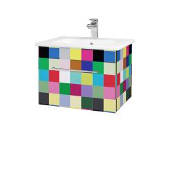 Dřevojas - Koupelnová skříň ASTON SZZ 60 - IND Individual / Úchytka T04 / IND Individual (149291E)