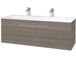 Dřevojas - Koupelnová skříň ASTON SZZ 120 - D03 Cafe / Úchytka T05 / D03 Cafe (131463FU)
