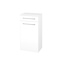 Dřevojas - Skříň spodní DOS SNDZ 50 - N01 Bílá lesk / Úchytka T04 / N01 Bílá lesk / Pravé (211431EP)