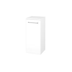 Dřevojas - Skříň spodní DOS SND 35 - N01 Bílá lesk / Úchytka T04 / N01 Bílá lesk / Pravé (211776EP)