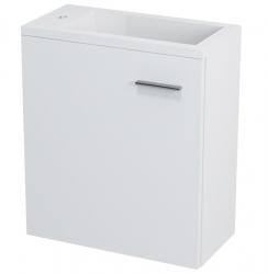 SAPHO - LATUS III umyvadlová skříňka 45x50x23,2cm, bílá (55541)