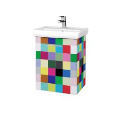 Dřevojas - Koupelnová skříň DOOR SZD 50 - IND Individual / Úchytka T04 / IND Individual / Levé (149932E)
