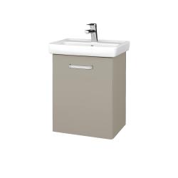 Dřevojas - Koupelnová skříň DOOR SZD 50 - M05 Béžová mat / Úchytka T01 / M05 Béžová mat / Pravé (205096AP)