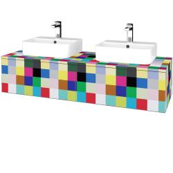 Dřevojas - Koupelnová skříňka MODULE SZZ12 140 - IND Individual / IND Individual (303181)